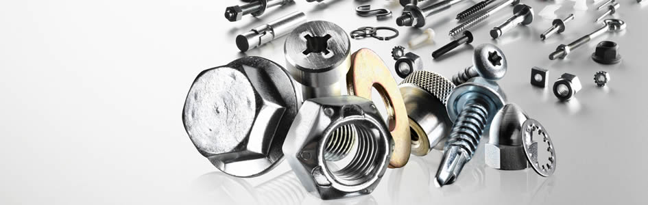 A selection of fasteners