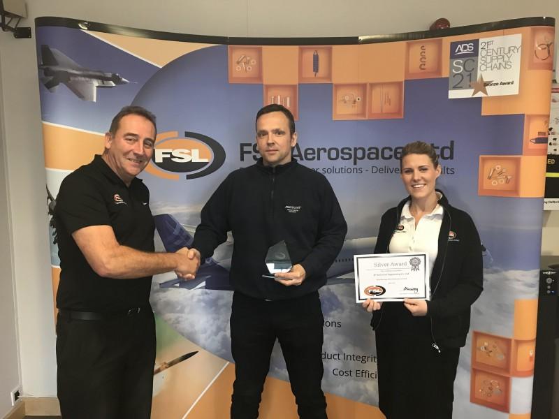 JPAero and FSLA Silver Award 2017